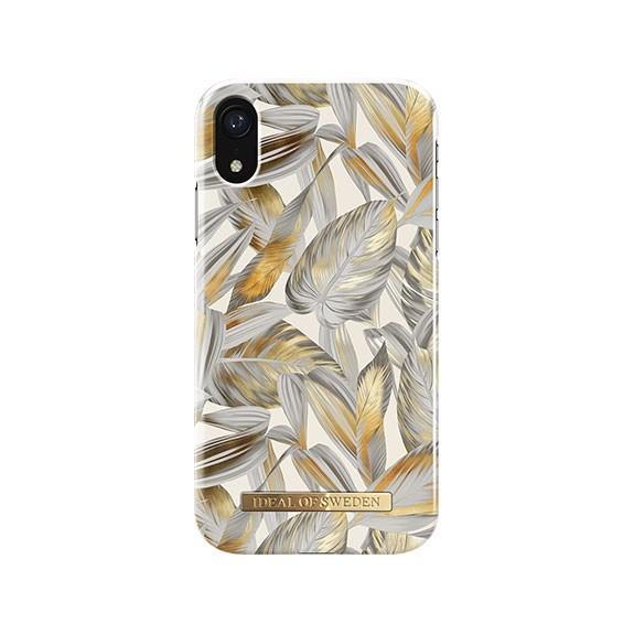 Coque Rigide Fashion Platinum Leaves
