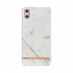 Coque Rigide White Marble...