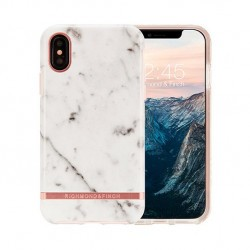 Coque de protection pour smartphones Richmond & Finch White Marble