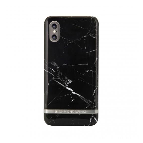 Coque de protection pour smartphones Richmond & Finch Black Marble