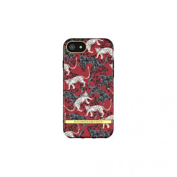 Coque Rigide Samba Red Leopard - Richmond & Finch