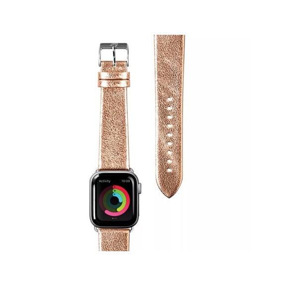 Bracelet Metallic Leather