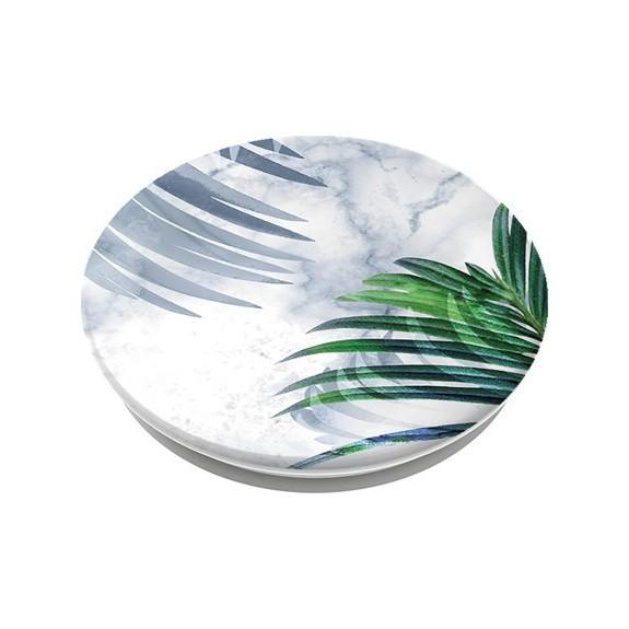 Pop White Marble Tropics