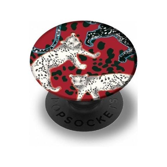 Pop Samba Red Leopard