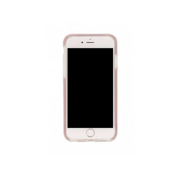 Coque Rigide Pink Marble Gold
