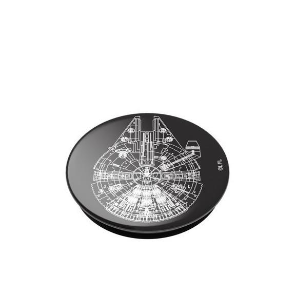 PopSockets Aluminum Millennium Falcon