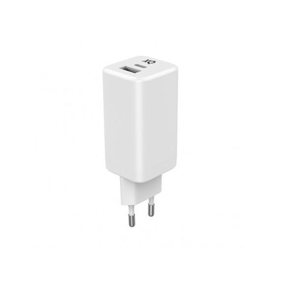 Chargeur 2 Ports USB-C PD + QC - 65W