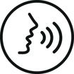 <h5>Assistant vocal</h5><div>Un bouton permet de vous connecter facilement à Siri ou à votre assistant Google</div>}