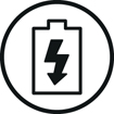 <h5>Speed recharge</h5><div>Une charge rapide de 15 minutes vous permet d'ajouter 2 heures d'autonomie</div>}