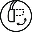 <h5>Repliable à plat</h5><div>Résistant le casque se plie et déplie à l'infini</div>}