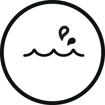<h5>Waterproof</h5><div>Résistant aux projections d'eau (norme IPX5)</div>}